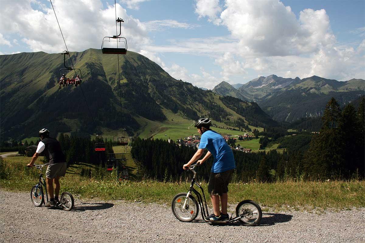 Bergbahnen Berwang Aktiv Roller