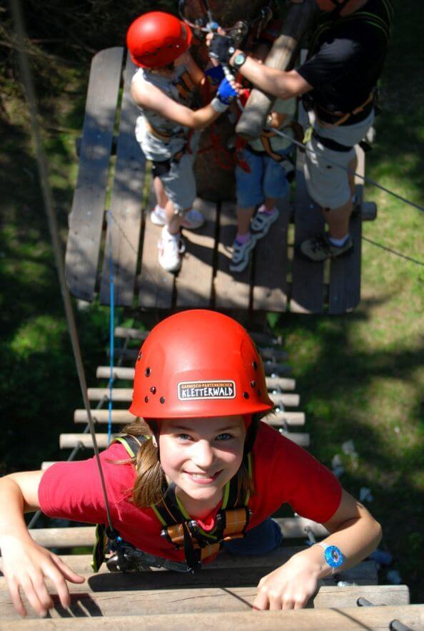 Pass Im Kletterwald Bichlbach Für Die Ganze Familie