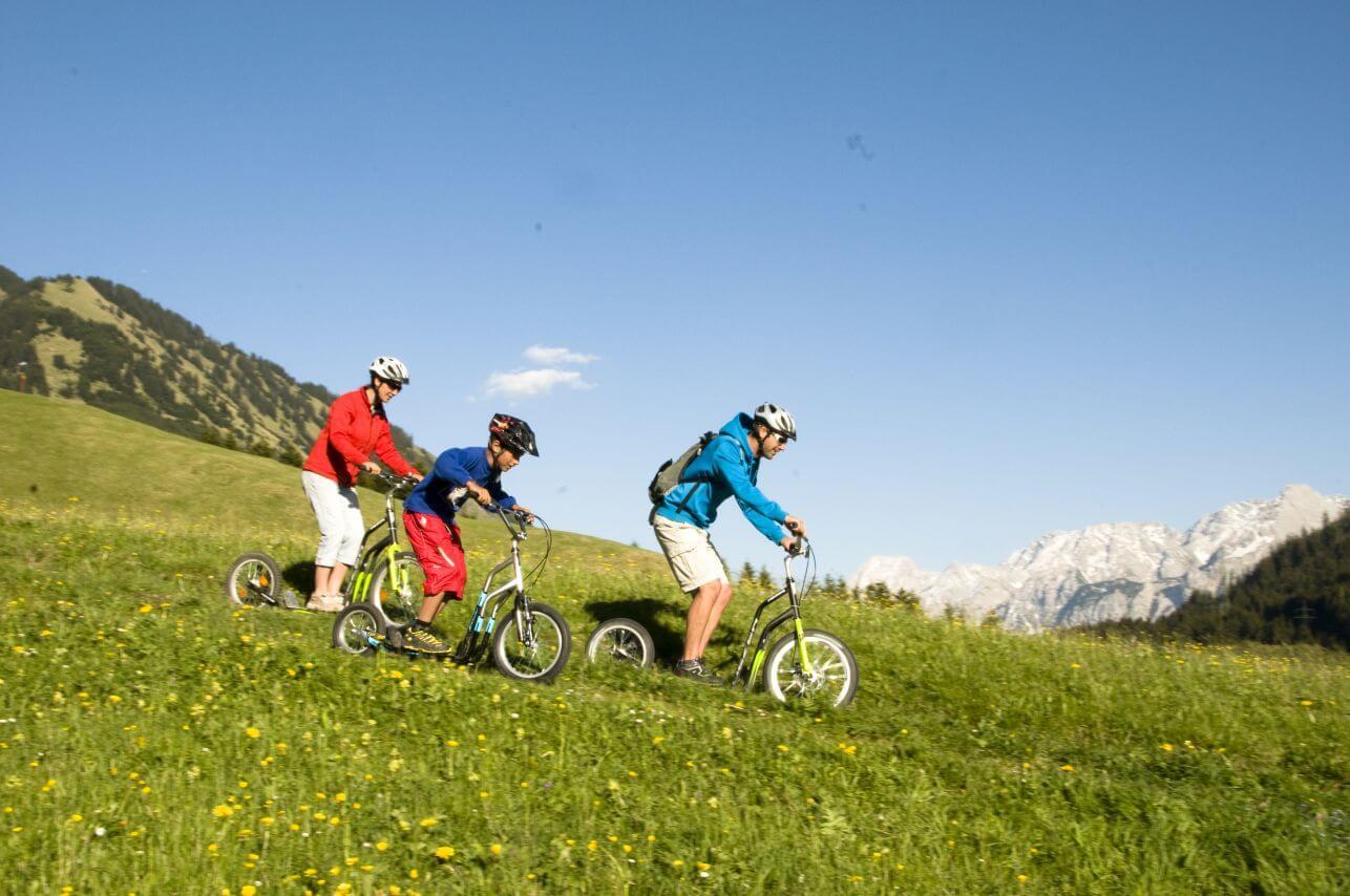 Fahrt mit dem Bergroller von Berwang nach Bichlbach