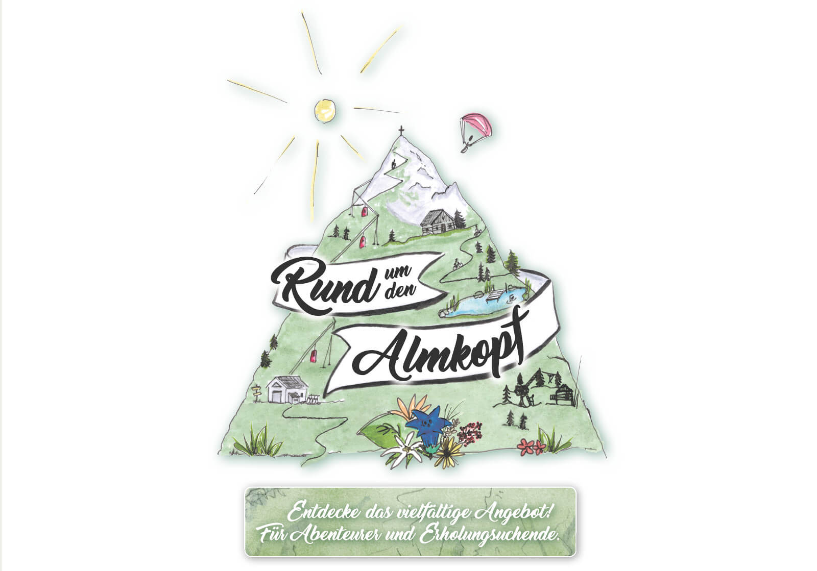 Rund um den Almkopf - Berg Sommer Aktivitäten