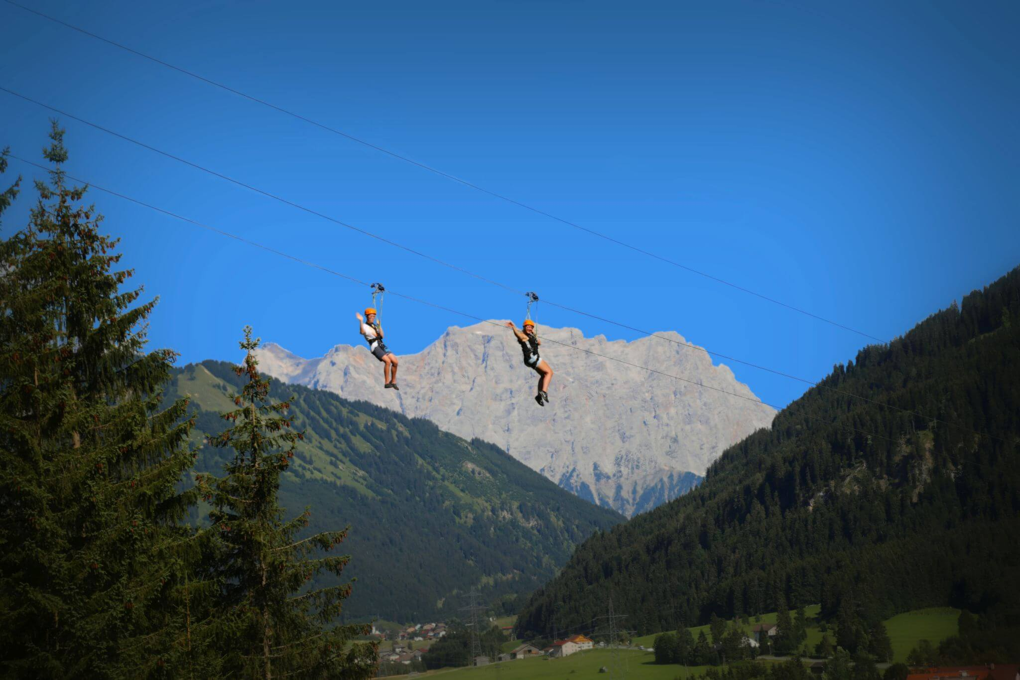 Flying Fox in Bichlbach